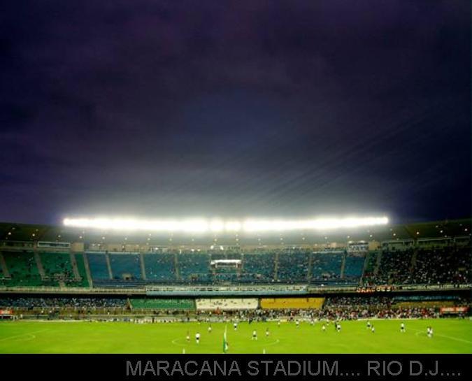 MARACANA STADIUM.... RIO D.J.... BRAZIL ....CAPACITY.199,000