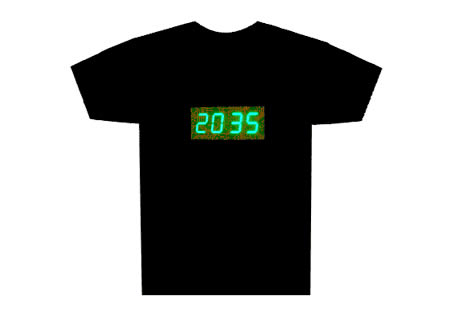 Digital Clock T-Shirt