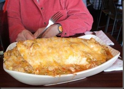 Giant Breakfast Burrito