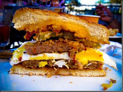 Heart Attack Sandwich
