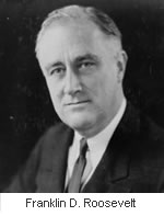 Franklin D Roosevelt froze Japanese assets in the United States.