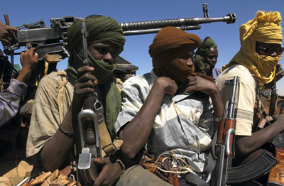 The conflict in Darfur has been partly blamed on stresses caused by global warming.