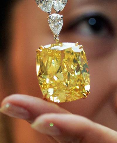 The Golden Eye Diamond