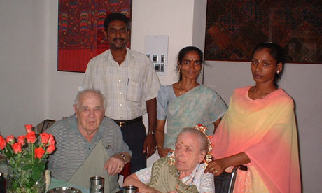 Outsourcing Elderly Care -to India!