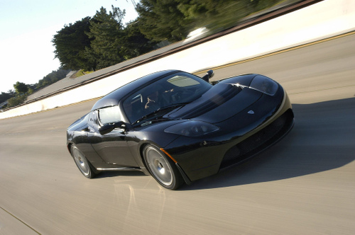 2. Tesla Roadster