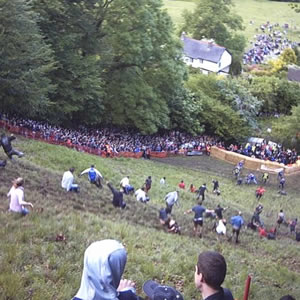 Cooper's Hill Annual Cheese Rolling