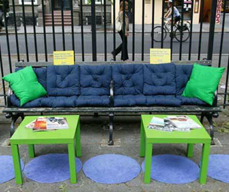 IKEA Bench Advertisement
