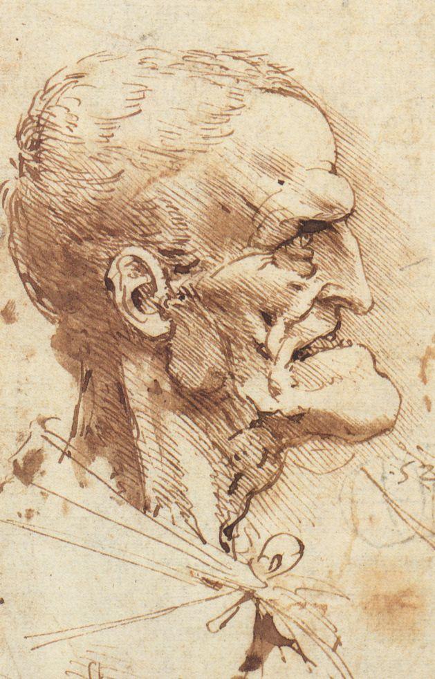 Grotesque Profile, c. 1487-90
