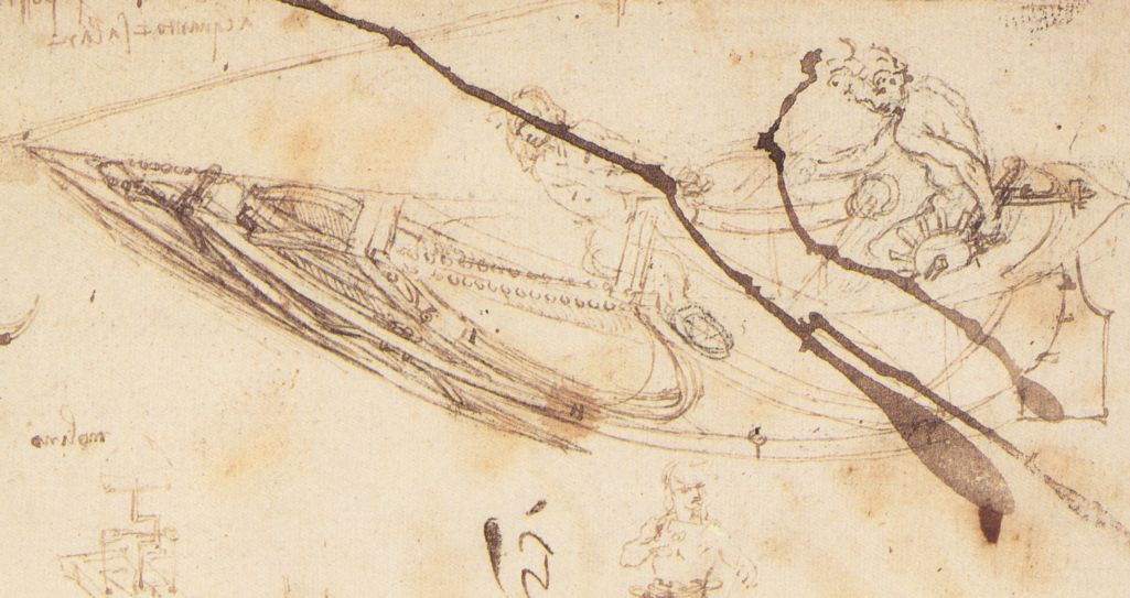 Designs for a Boat, c. 1485-7