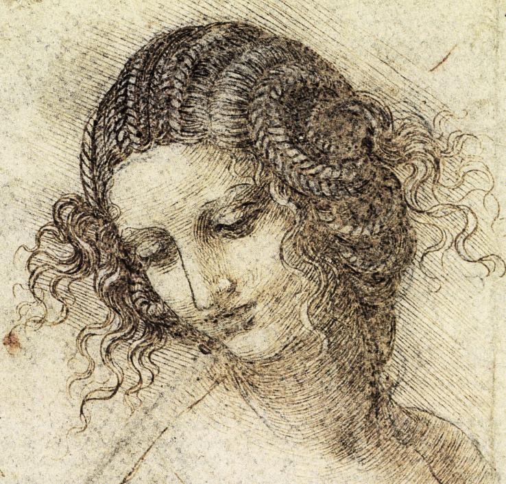 Study for the Head of Leda, c. 1505-7