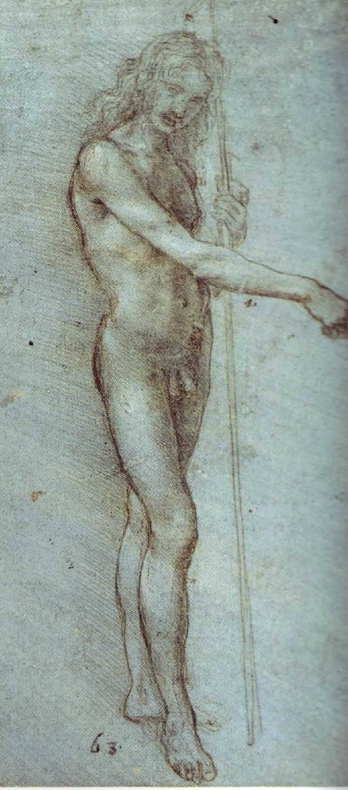 Man with a Staff, c. 1476-1480