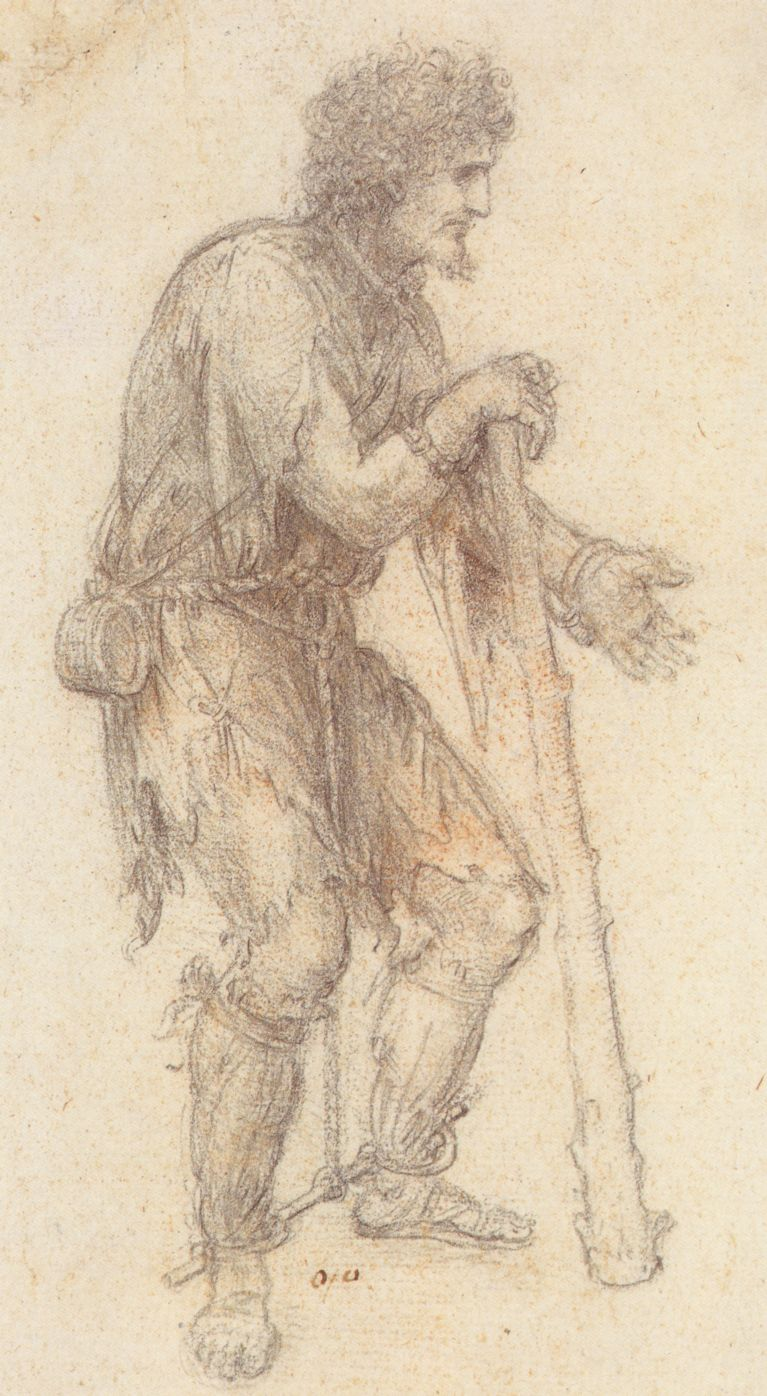 Masquerader in the guise of a Prisoner, c. 1517-8