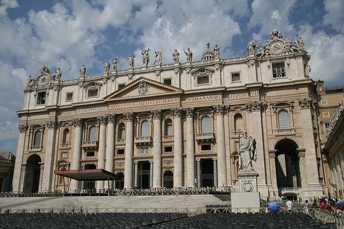 St. Peter's Basilica (Image Credit: dionc (Flickr))