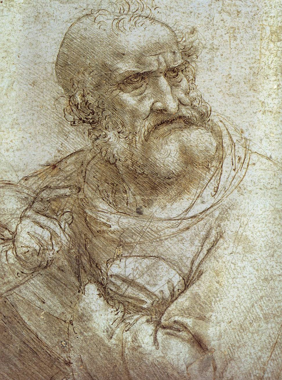 Study for the Last Supper, c. 1495