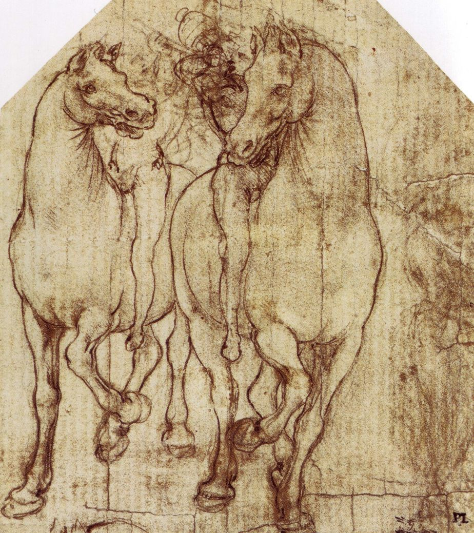 Study of Horse and Rider, c. 1480