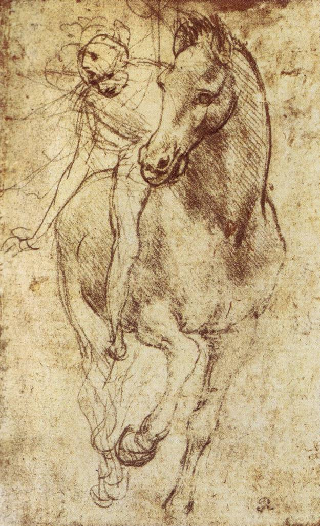 Study of Horse and Rider, c. 1481