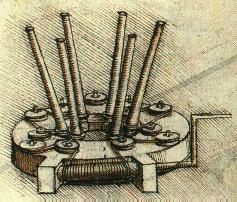 Stretching Device for a Barrel Spring, c. 1498