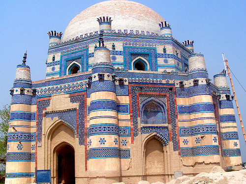 Shrine of Bibi Jawindi at Uch Sharif