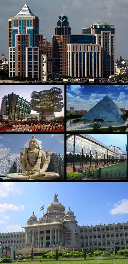 Bangalore City Montage